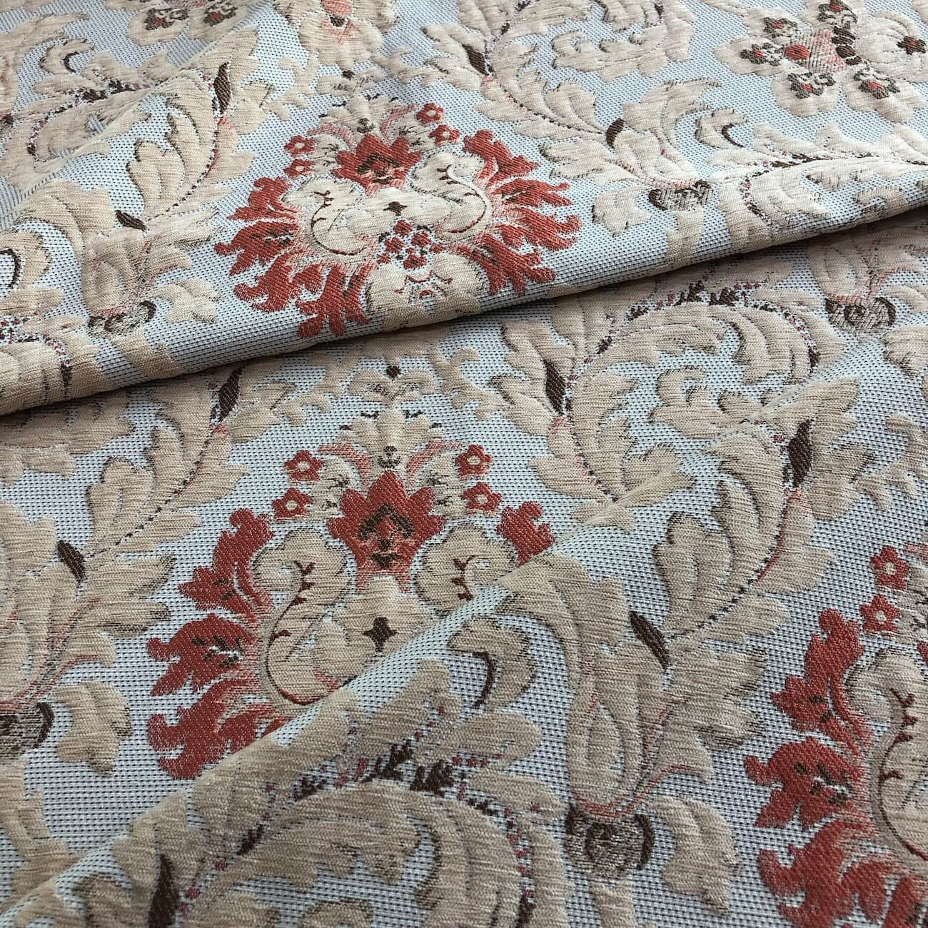 polyester chenille jacquard