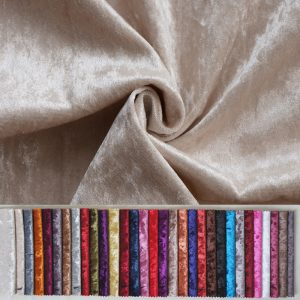 crushed velvet fabric by the yard