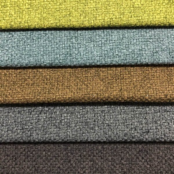 linen look material fabric for sofa