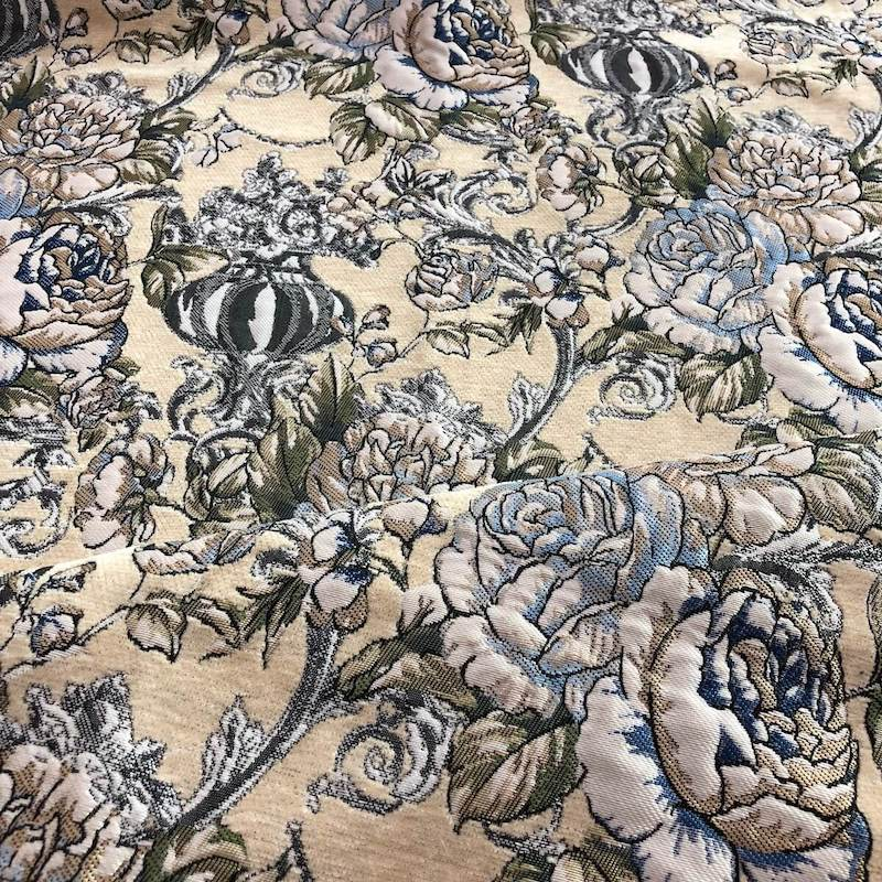 yellow floral sofa upholstery fabric